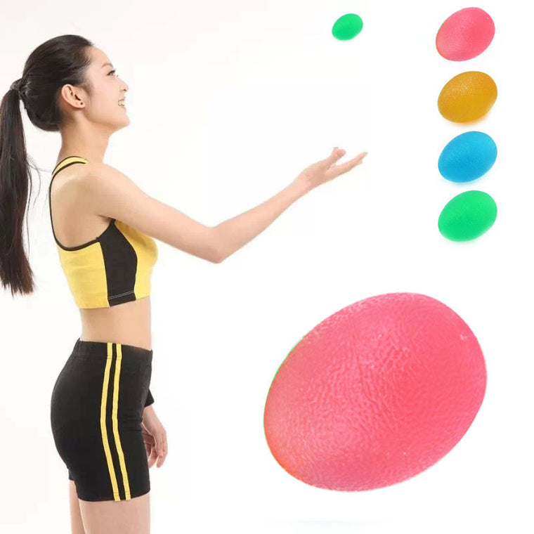 Hot Unisex Strong Grip Egg Hand Exerciser ForceBall PowerBall Gyroscope Wrist Strengthener Ball Hand Grips Free Shipping