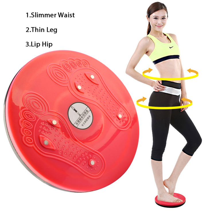 Waist Twisting Board Foot Massage Disc Magnet Balance Rotating Board Loss Weight Fitness Equipment Home Gym Exercise