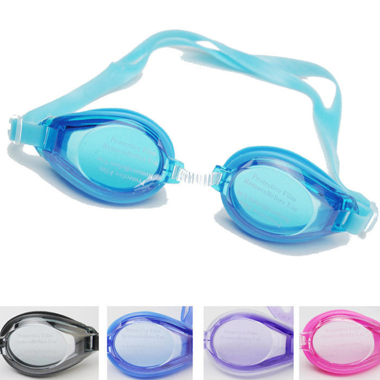 New Children Kids Outdoor Swim Pool Anti fog Swimming Goggles Glasses Eyewear Accessories for Boys Girls with Earplugs Pouch Bag