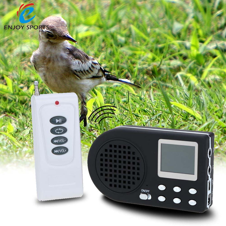Digital Hunting Bird caller MP3 player bird sound caller Game hunting decoy+ Wireless remote control + Bird sounds 90dB