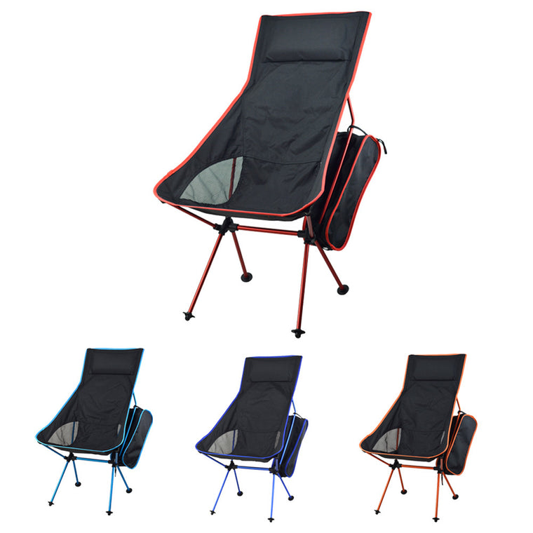 Outdoor Design Portable Lightweight Folding Camping Stool Chair Seat for Fishing Festival Picnic BBQ Beach With Bag