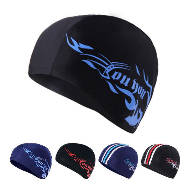 H381 Spa Spandex Swimming cap Package hair swimming cap Suitable for swimming pool Spa male and female A variety of optional
