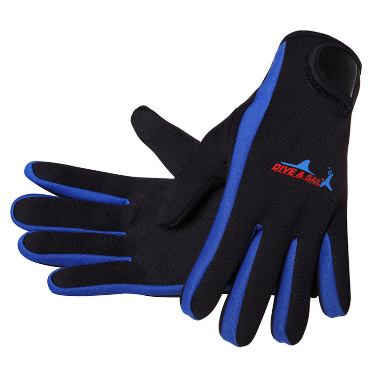 3mm Neoprene scuba dive gloves Snorkeling Equipment Anti Scratch skid Keep warm Wetsuit material Winter swim spearfish gloves