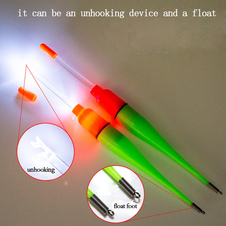 New  1pcs luminous float fishing glow stick multifunction chemical light fishing floater accesorios pesca  FF03