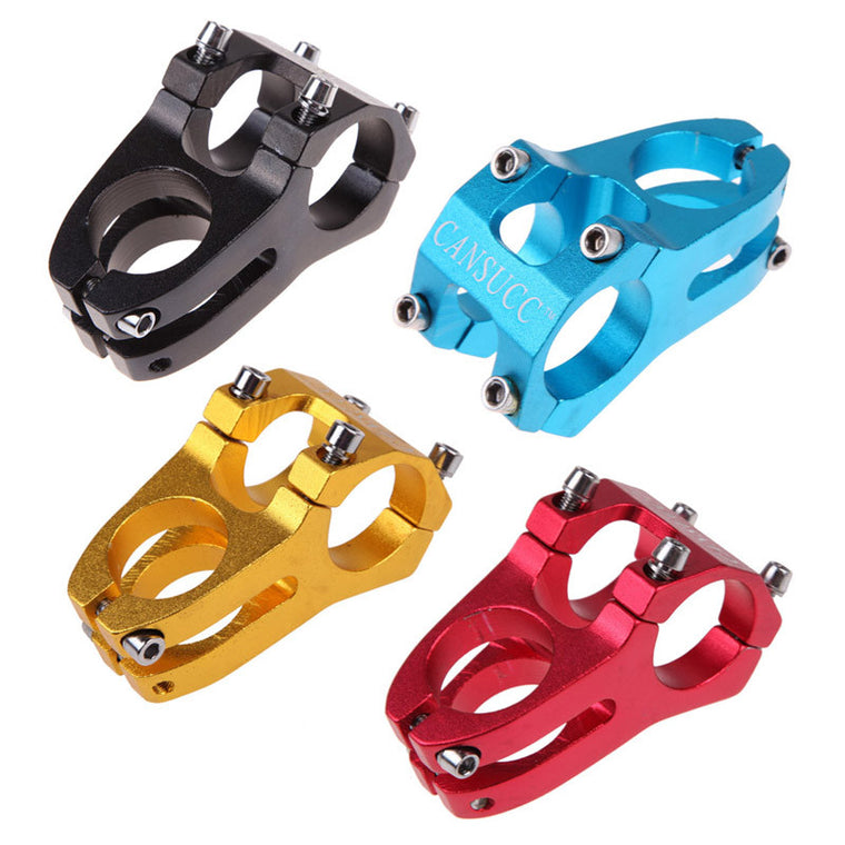Bicycle Handlebar Holder MTB Mountain Bike Handlebar Stem Aluminum Alloy 28.6*31.8mm Bicycle Replacement Parts Accessories