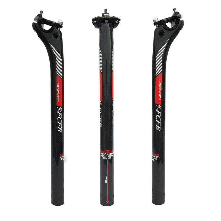 400mm Length 27.2//30.8//31.6mm Diameter Seatpost for Mountain Bike VGEBY Bicycle Seat Post