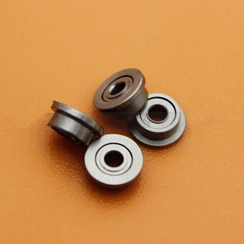 100pcs MF85ZZ  flanged bearing  MF85 F675ZZ LF850ZZ  5x8x2.5 mm   shielded  miniature flange groove ball bearings  5*8*2.5