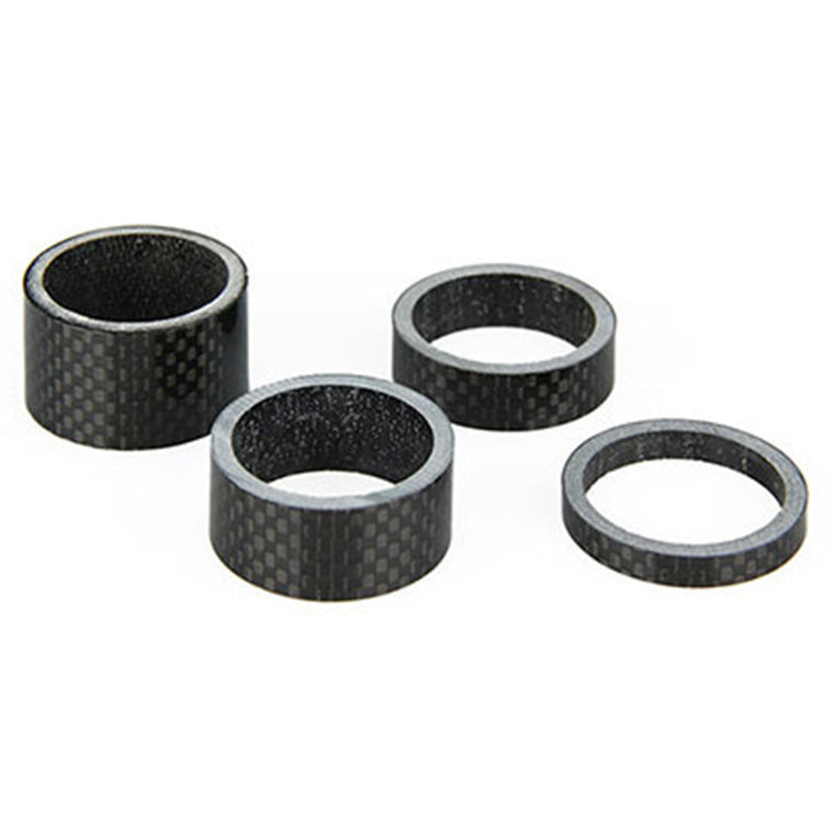 "1 Pack 3K Full Carbon Bicycle Fork Washer Spacer 28.6mm 1 1/8"" MTB Road Bike Fork Headset Washer Space  5/10/15/20/30/40/50mm"