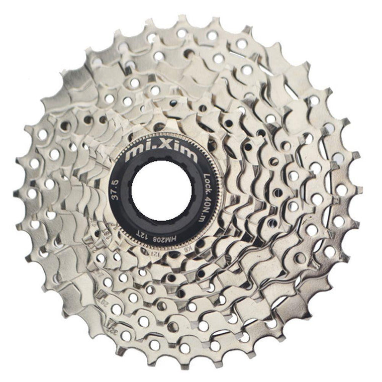 High quality aluminum alloy 7/8/9/10 speed bike Cassette flywheel 24/27/30 Speed single freewheel Mountain Bike casette