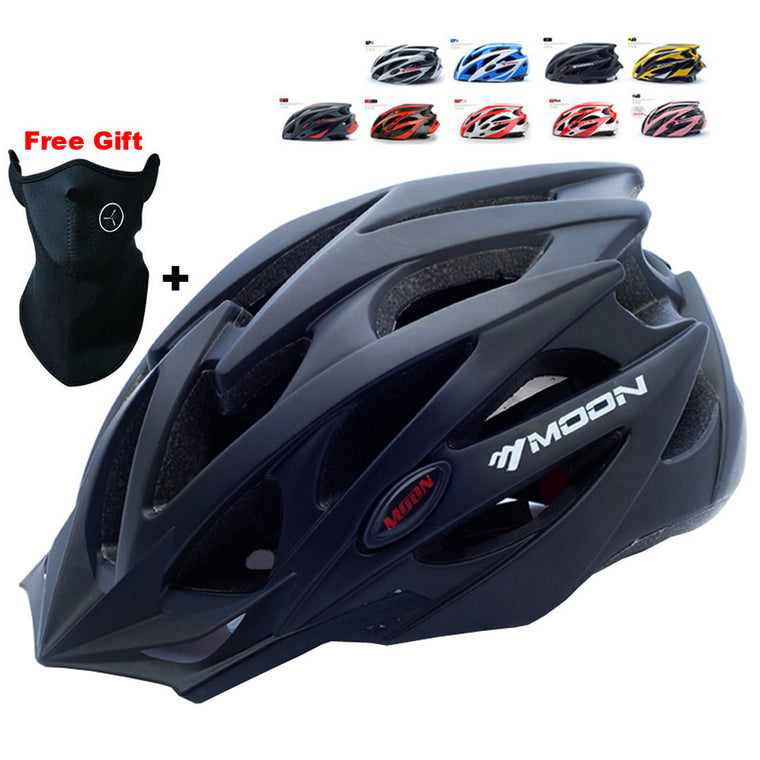 MOON Cycling Helmet Ultralight Integrally-molded Bicycle Helmet CE Certification for Road Mountain Bike Helmet Casco Ciclismo