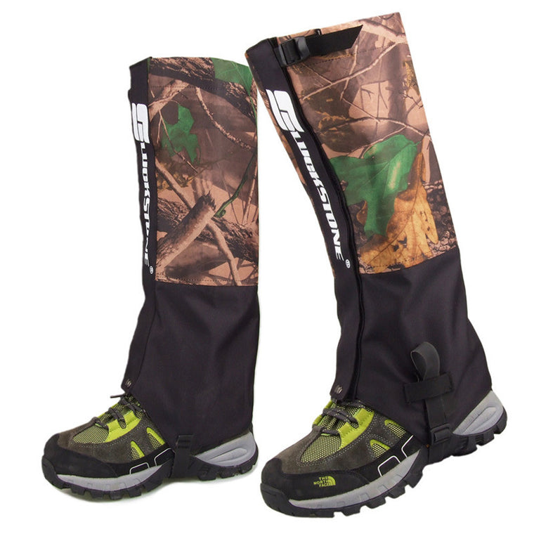 1 Pair outdoor camouflage Waterproof Outdoor Hiking Walking Climbing Hunting Snow Legging Gaiters