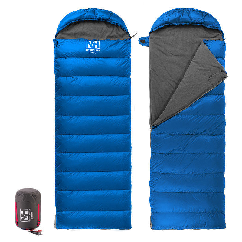 Naturehike New Arrival Envelope Sleeping Bag Camping sleeping bags down feather D-280