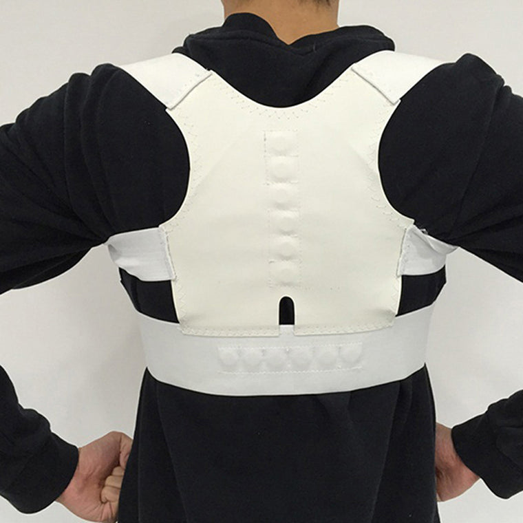 Professional Back Brace Fitness Spine Protector High Quality Energetic Magnets Lower Back Support  Posture Correct Equipment