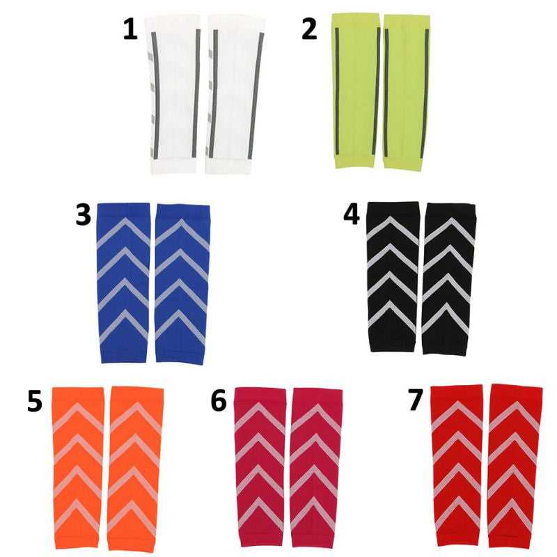 1 Pair Calf Support Graduated Compression Leg Sleeve Sports Socks Outdoor Exercise Sports Safety