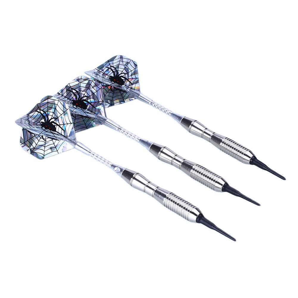 3pcs Steel Tip Electronic Darts 18g Shafts Flight Harrow Point Wing Barrel