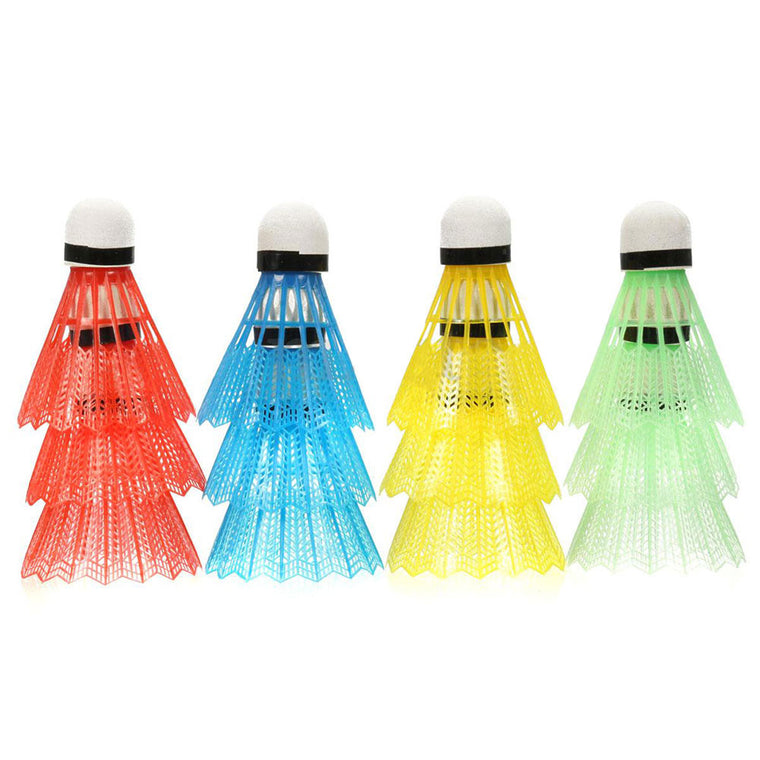 12pcs Portable Colorful Badminton Balls Shuttlecocks Sport Products Training Train Game High Quality