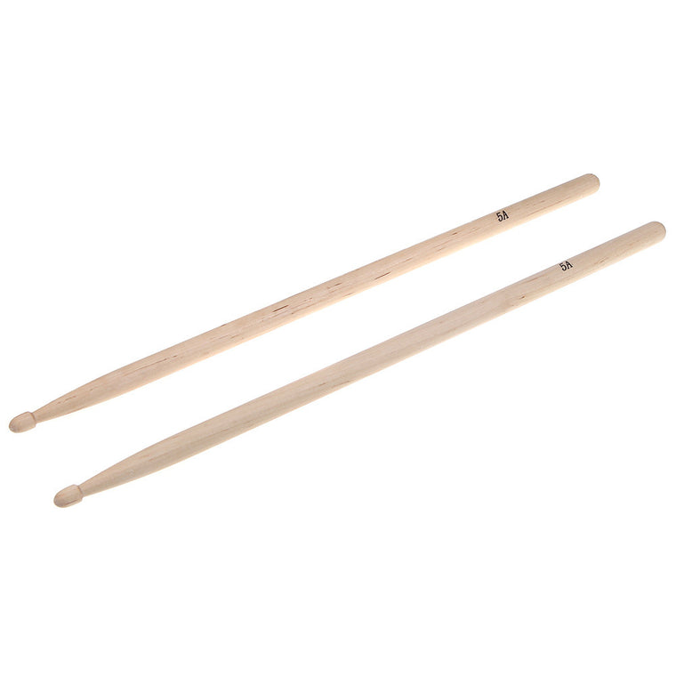 Hot Sale! Pair of 5A Maple Wood Drumsticks Stick for Drum Drums Set Lightweight Professional I344 Top Quality