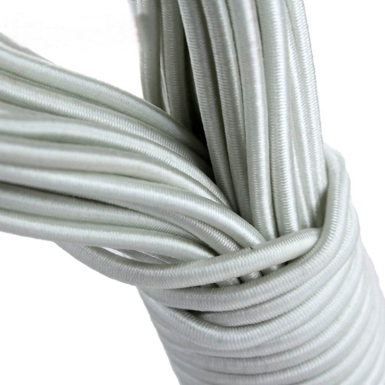 New 50M of Elastic Rubber Band Replacement Cord Rope For Aluminum Tent Poles