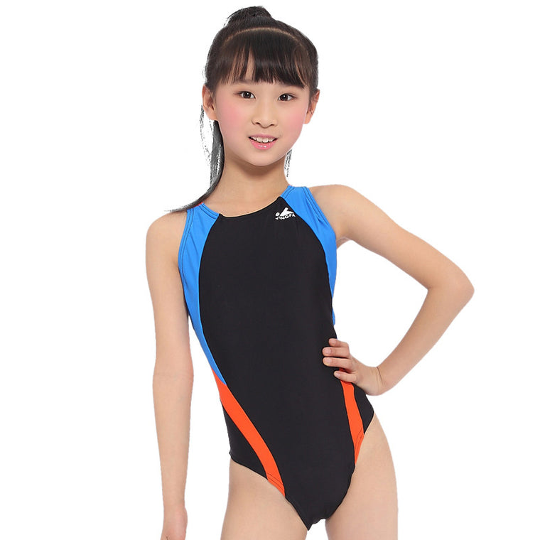 Professional Competition Arena Training Kids Swimwear for Girls Swimsuits One Pieces Baby Bathing Suits DAE
