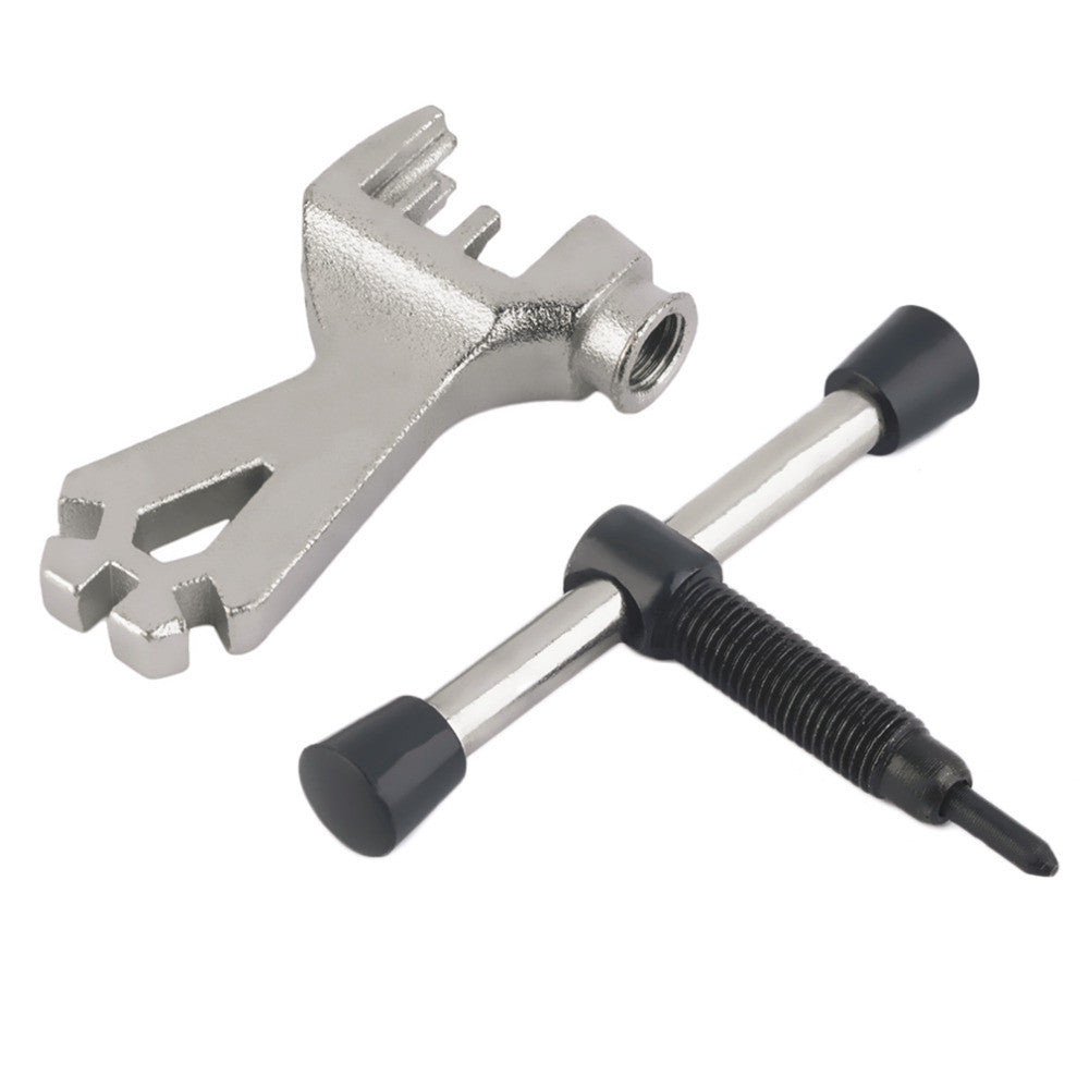 Bike Cycling Bicycle Chain Breaker Splitter Cutter Repair Tool With Spoke Wrench free shipping