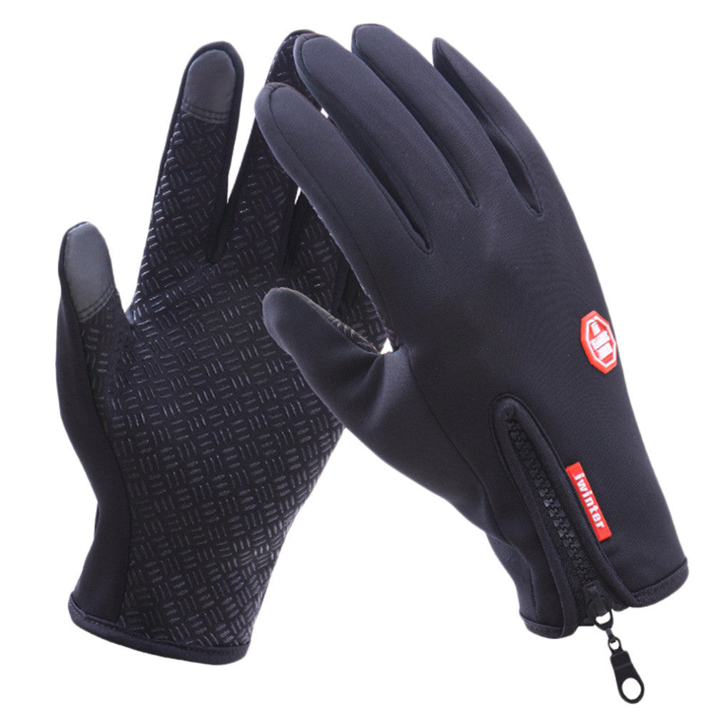 Women Men M L XL Cycling Gloves Snowboard Gloves Motorcycle Riding Winter Touch Screen Snow Waterproof Glove Hot Sale