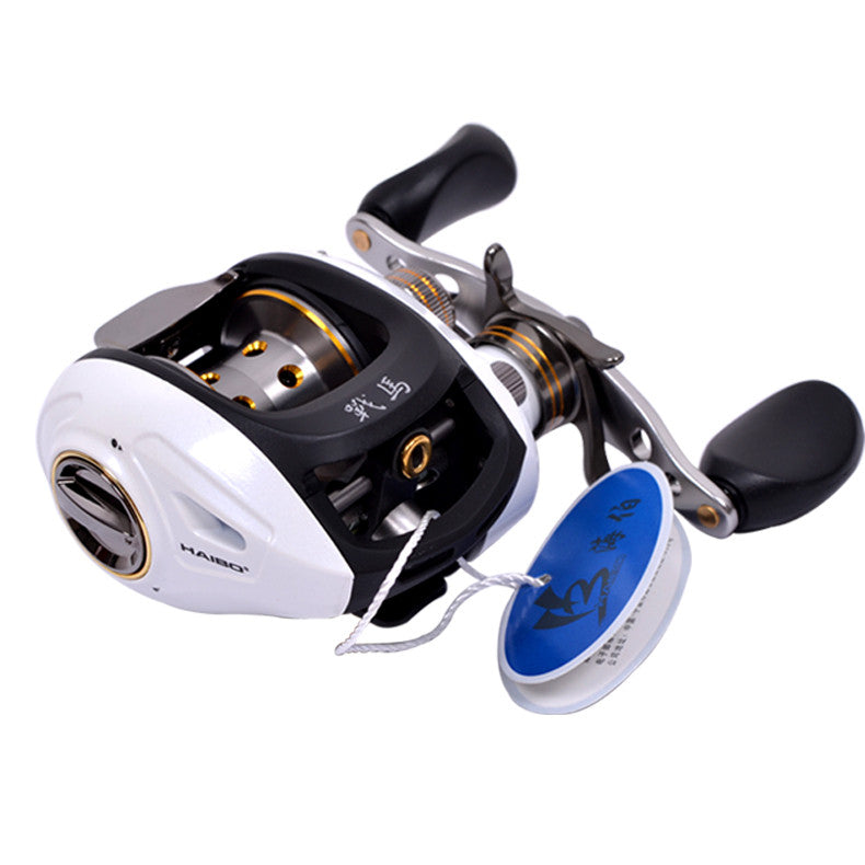 Haibo STEED  Baitcasting fishing reel Left/right hand All metal Centrifugal 6.5:1 8+1 Bearings,175g,Free shipping