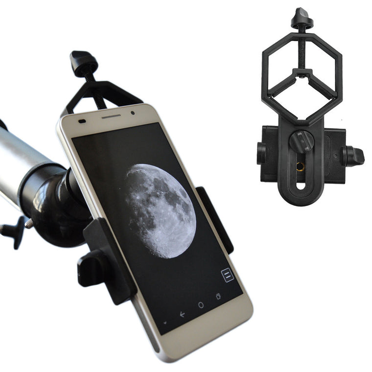Smartphone Spotting Scopes Telescope and Microscope  adapter-Into Video Camera and Image Capturer in Distant