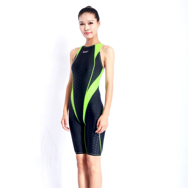 HXBY Swimwear Women One Piece Swimsuit Competitive Swimming Suit For Women Girls Racing Swimsuits One Piece Badpak Bathing Suit