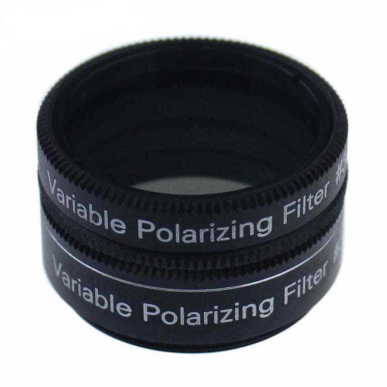 1.25 Inch Variable Polarizing  Filter No3 - Progressively Dim the View - Increasing Contrast for telescope Eyepiece
