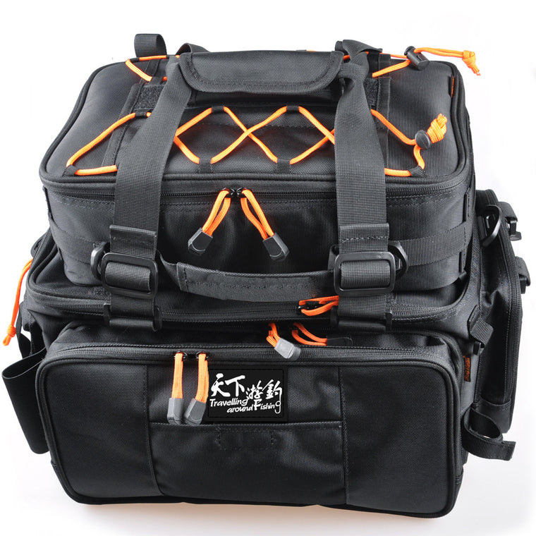 Fishing Bag 2pcs48*29*22 Multi Purpose Large Capacity Fishing Rod Bag Bolsa De Pesca Ice Fishing Tackle Bag Mochila