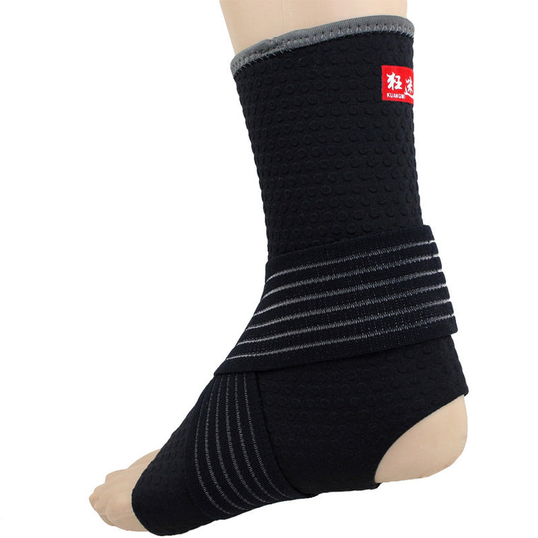 Compression Ankle Sleeve Support Sports Safety Guard Adjustable Wraps Bandage Ankle Brace Basketball Ankle Protector 1PC