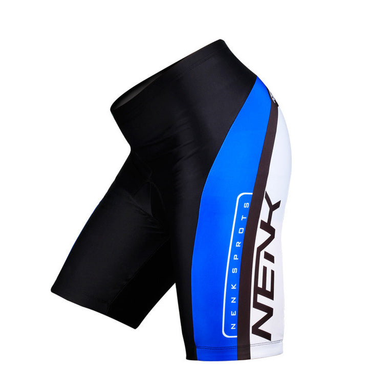 Lance Sobike Original Men`s Cycling Shorts-Cooree Riding Bicycle Bike 3D Padded Coolmax Gel Shorts Fitness S-3XL Blue/Red