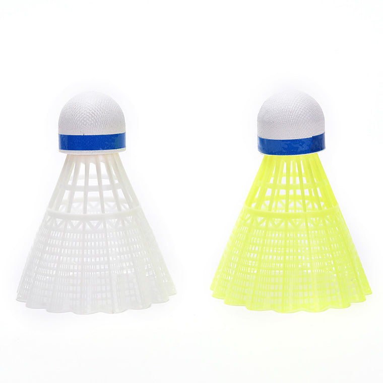6Pcs Training Train Gym Fitness Nylon Shuttlecocks Birdies Badminton Ball Sport Plastic Durable High Quality