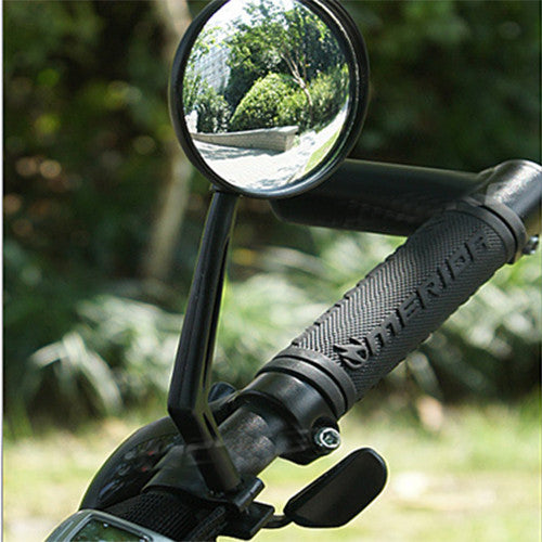 Bicycle Handlebar Mirror Portable Useful Flexible Cycling Mountain Bike Rear view Glass Accessories