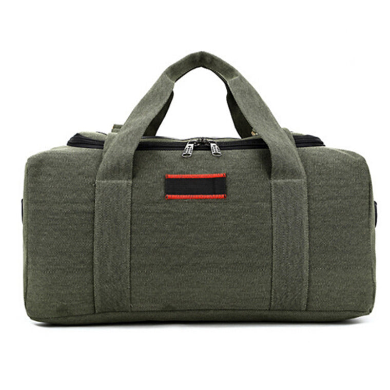 Vintage canvas men Fitness bags carry on luggage bags men duffel bag travel tote large weekend outdoor sport Bag size L M XJ472