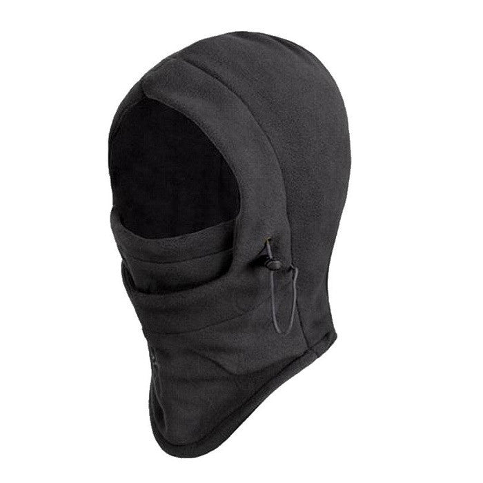 ROCOTACTICAL Full Face Thermal Fleece Hiking Balaclava Hooded Neck Warmer Winter CS Sports Face Mask Motorcycle Helmet Beanies