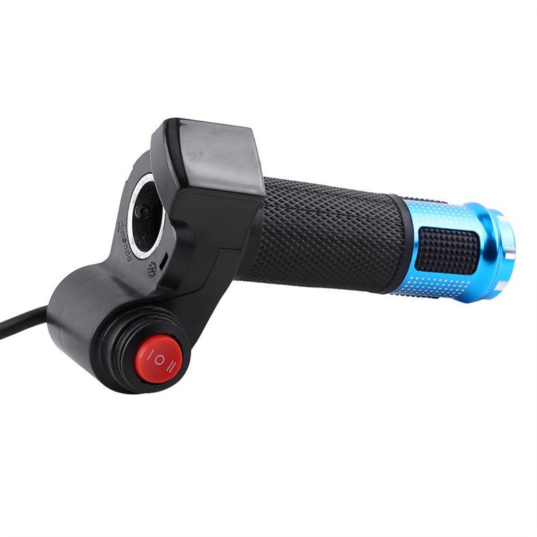 Twist Throttle Grips Handlebar 3 Speed Switch With LED Display Screen Handle For Electric Bike Half Twist Throttle