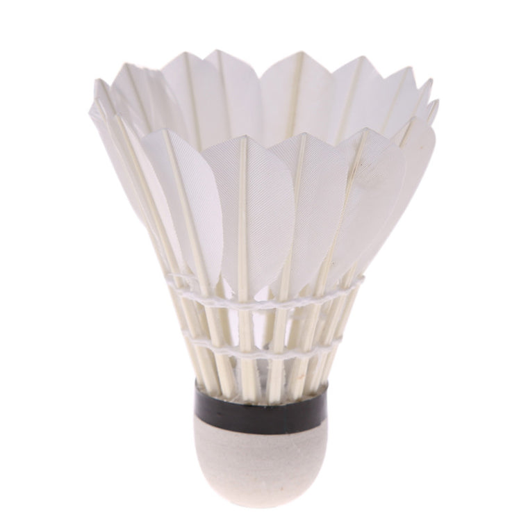 4 Pcs Colorful LED Shuttlecocks Glow in the Dark Night Badminton Feather Shuttlecock Battery Operated New BHU2