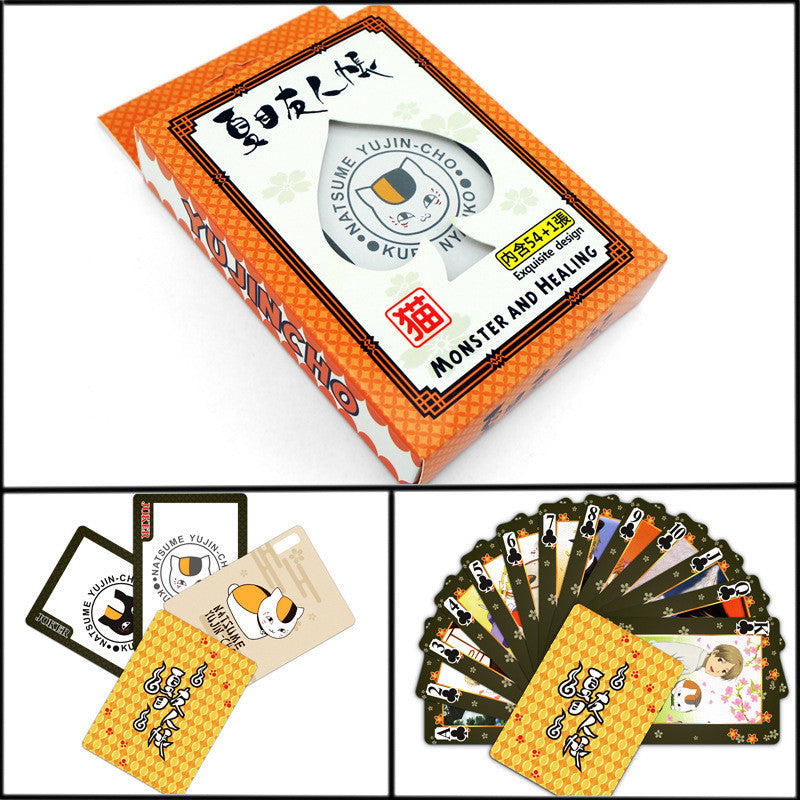 Natsume Yuujinchou Cards Entertainment Poker for Party Anime Comics Character Collector's Edition Playing Cards