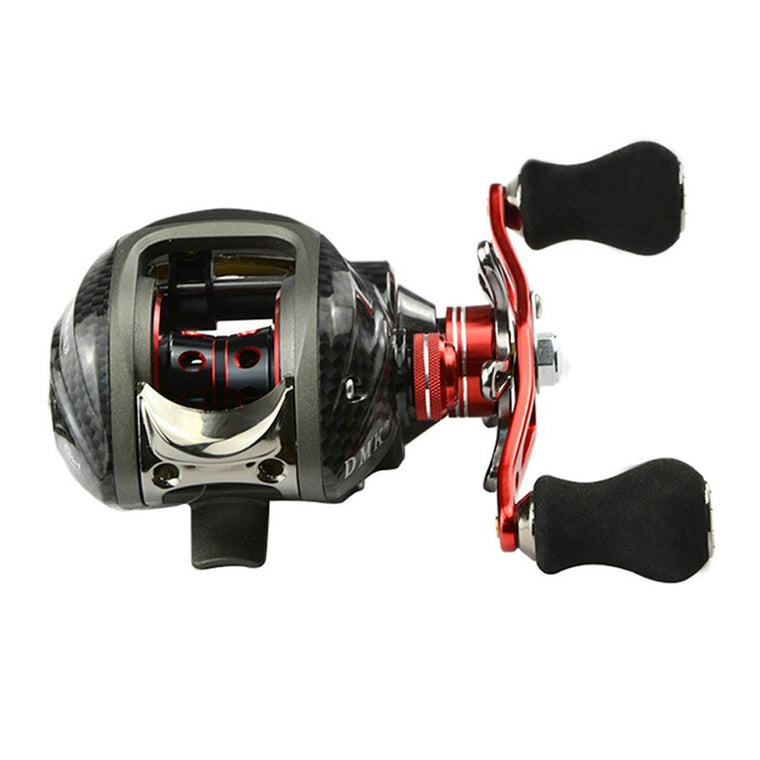 1 PC Fishing Reel 12BB 6.3:1 Gear Ratio Fishing Reel  Bait Casting Fishing Reels Red High Quality  EA14