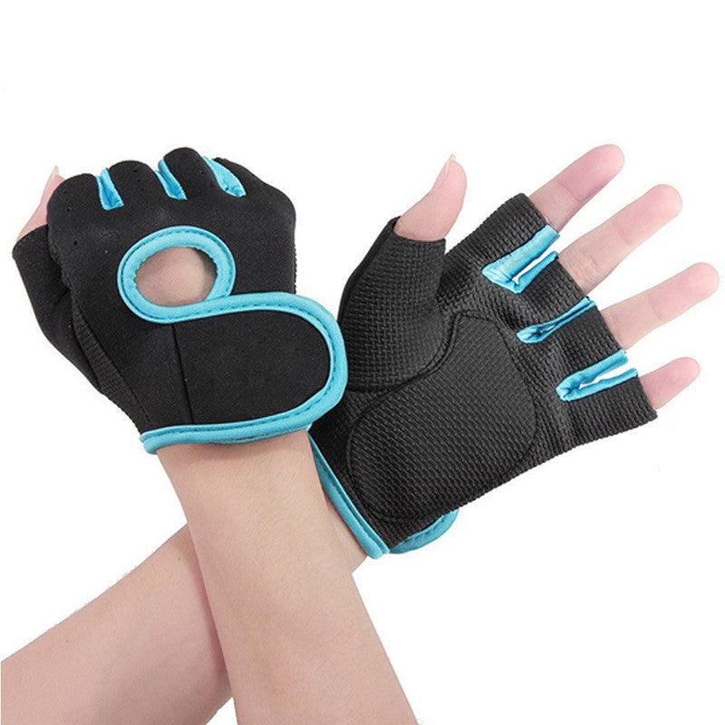 Hot Men&Women Fitness Exercise Workout Weight Lifting Sport Gloves Gym Body Building Training Half Finger L Free Shipping