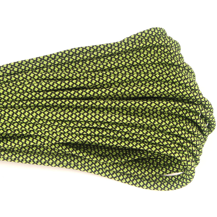 New Colors Paracord 550 100FT Paracord Rope Type III 7 Stand Parachute Cord Outdoor Camping Survival Rope  Wholesale