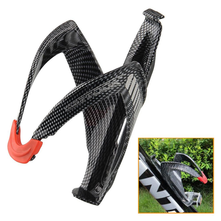 Outdoor Cycling Mountain Road Bicycle MTB Glass Carbon fiber Bike Water Bottle Holder Cage Glass Holder Cycling Accessories