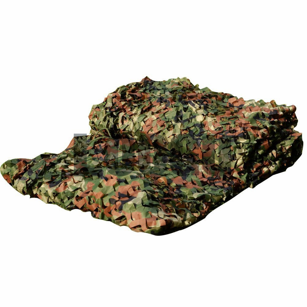 1.5M*2M Woodland Camo Netting Military Army Camouflage Net  Jungle Sun Shelter for Hunting Camping Outdoor Car Covers Tent