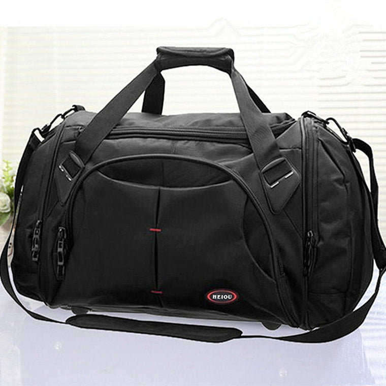 High Quality Men Travel Bags Large Capacity Women Luggage Travel Duffle Bags Nylon Outside Waterproof Bags Bolso