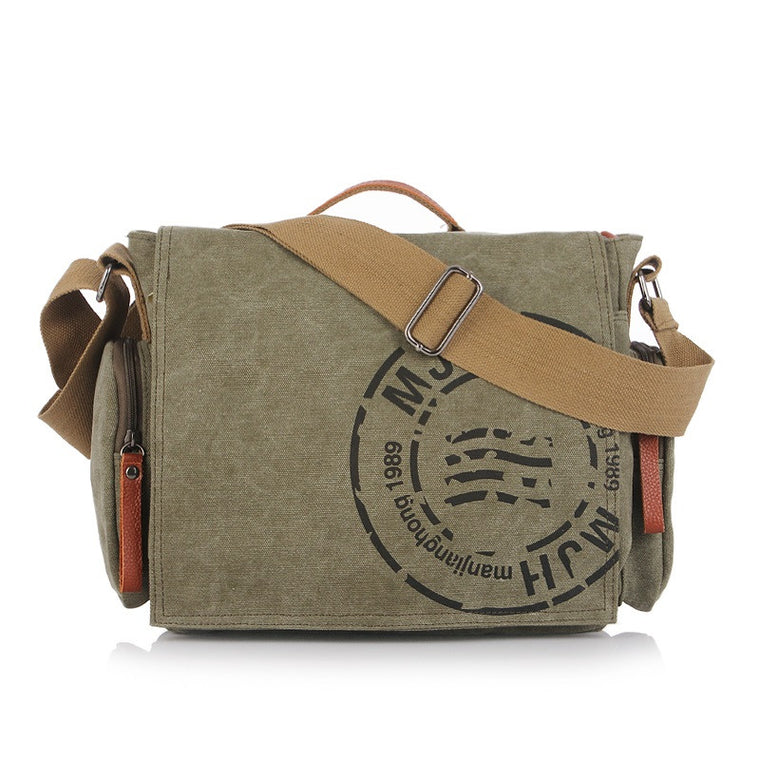 New Vintage Men Messenger Bags Casual Men's Shoulder Bag Men Business Tote Handbag Bags Male Travel Crossbody Bag MJH1124
