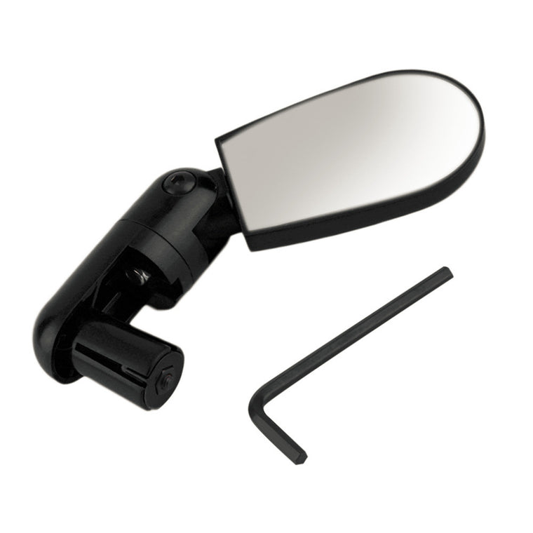 New Popular Black Adjustable Handlebar Mirror Rearview Back Mirror Mini Bike Bicycle Cycling Rearview Outdoor Sport