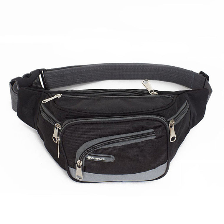 Fashion Waist Bag Nylon Fanny Pack for Men Casual Travel Waist Pack Portable Bag Waist Men Messenger Bags