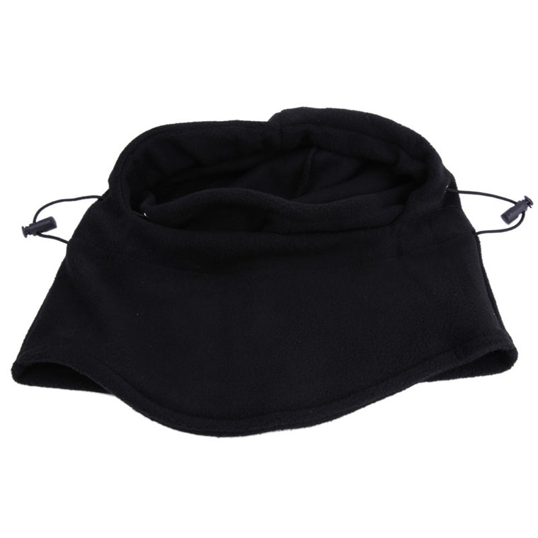 Outdoor Thermal Fleece Balaclava Hood Police Swat Cycling Ski Neck protecting Wind Stopper Mask Full Face Bicycle Mask