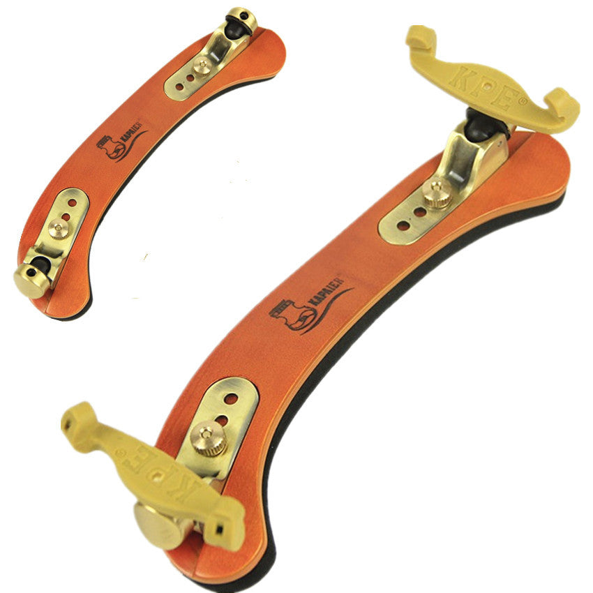 Free Shipping New Solid Multilayer Wood Violin 3/4-4/4 Violino Accessories Fittings Adjustable Shoulder Rest Pad Support